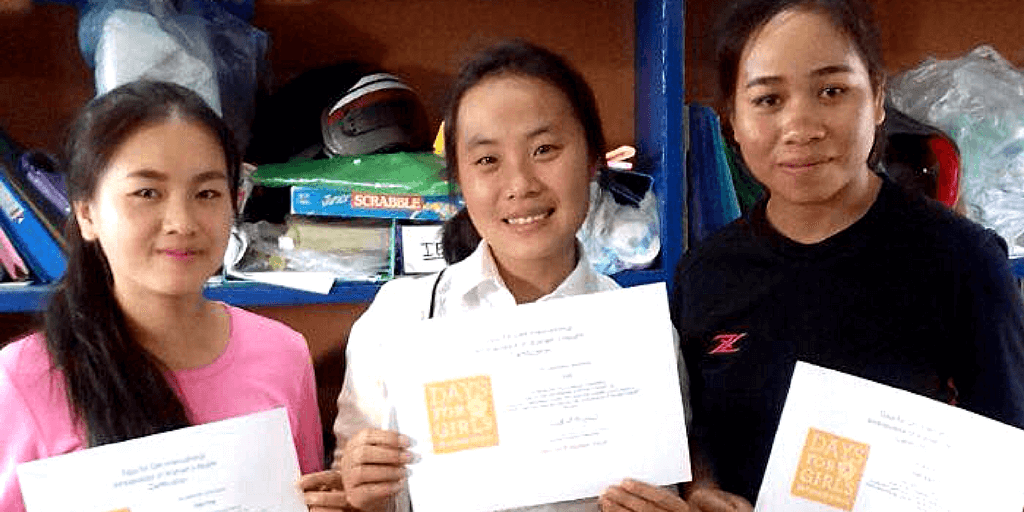 The First Ambassadors of Women's Health in Laos