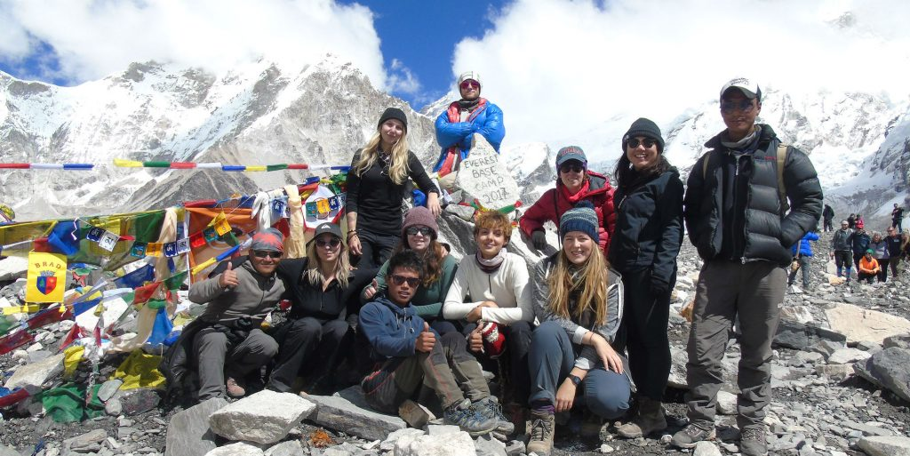 What better way to build up your ability to empathize than going on a team trek in Nepal with GVI