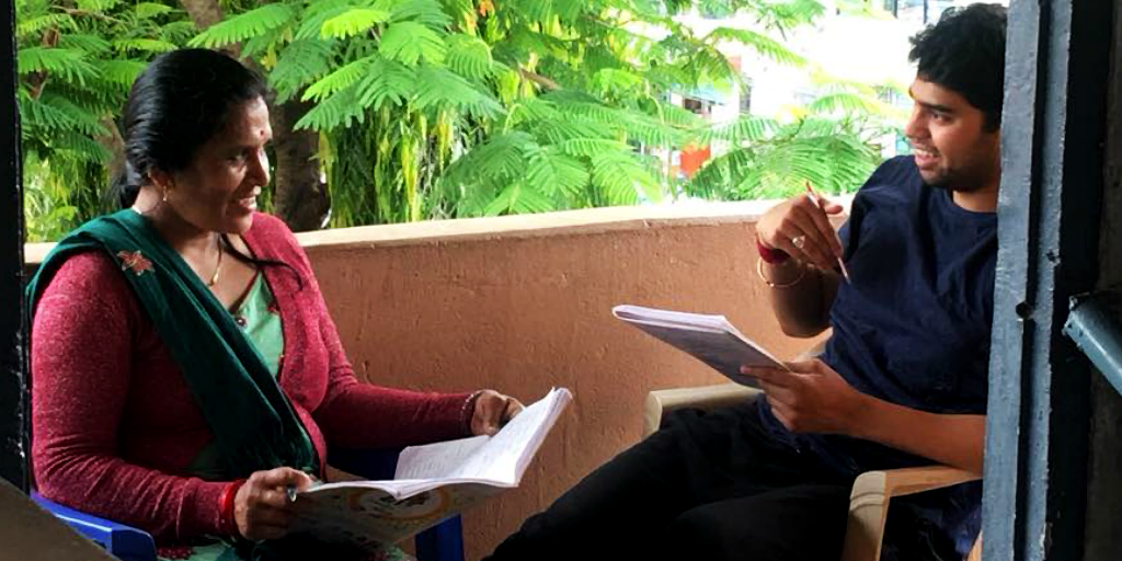 A GVI volunteer taking a gap year to volunteer on a women's empowerment program.