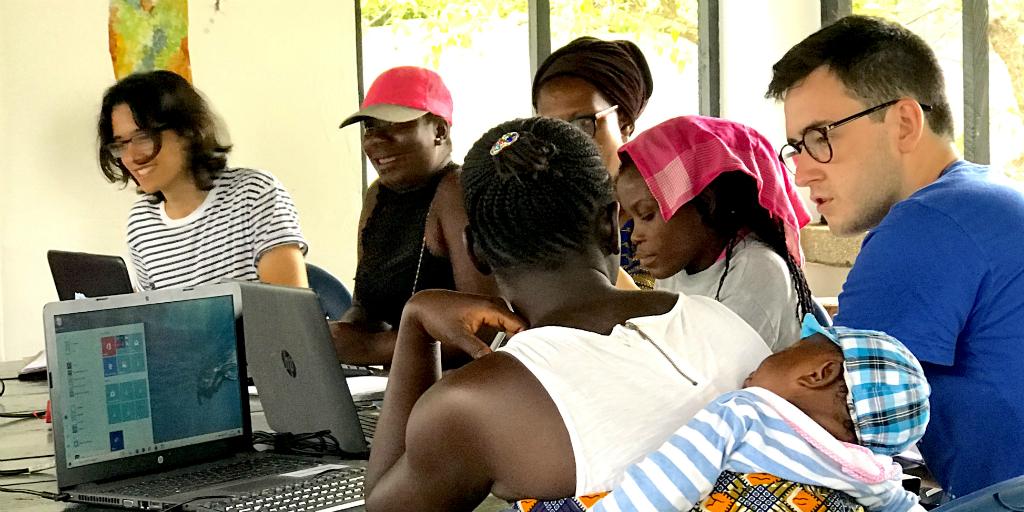 Women's empowerment programs being run by GVI volunteers in Ghana