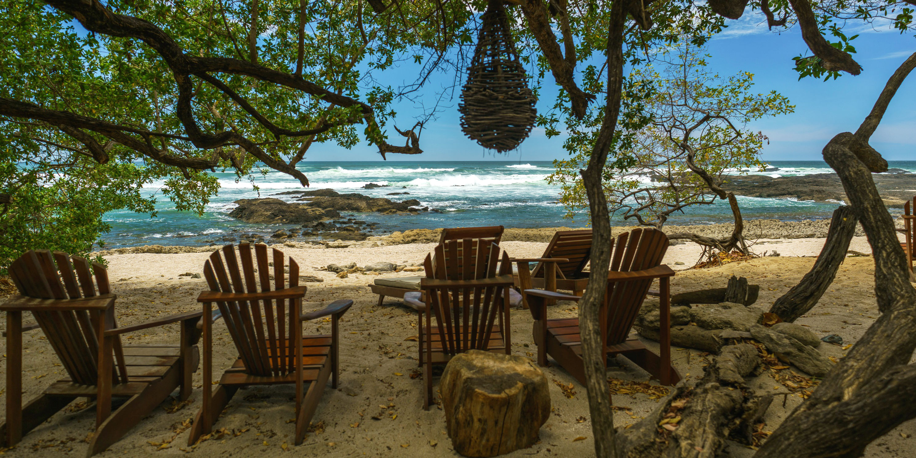 This beachside resort in Costa Rica may seem idyllic, but the habitat loss required for its construction poses a threat to Costa Rica sea turtles.