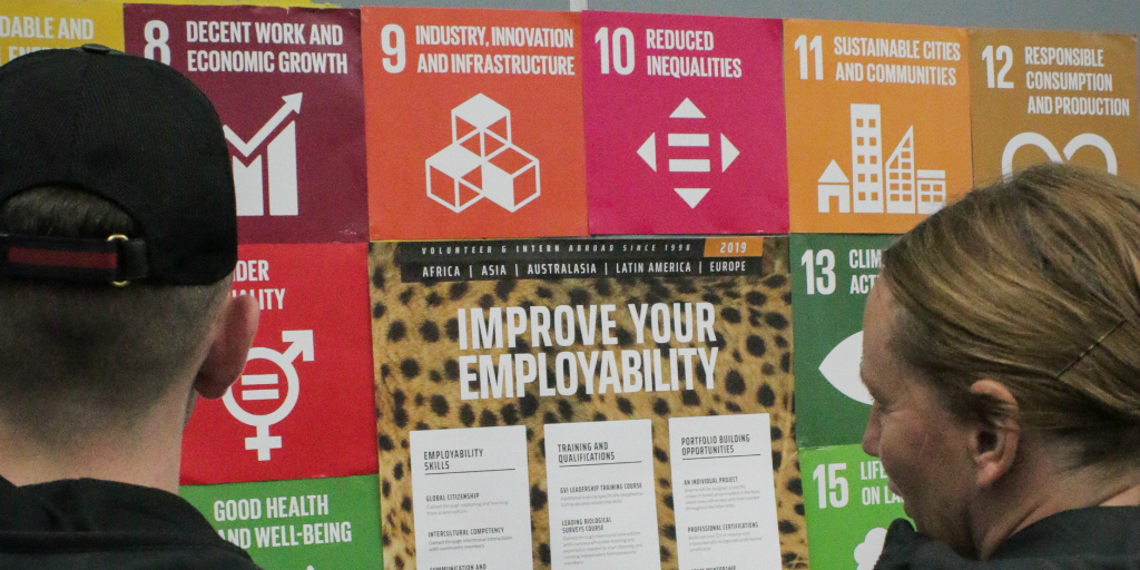 GVI follows the guidelines set out by the UN SDGs to ensure an impact is being made