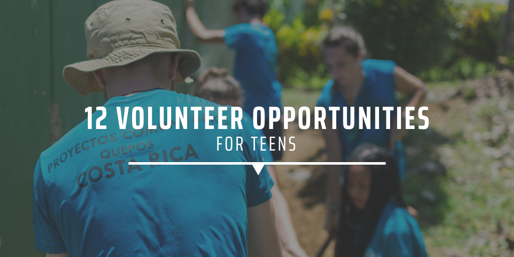 Volunteer Opportunities Near Me For 13 Year Olds
