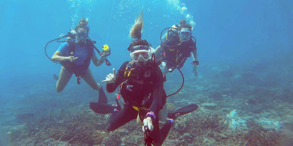 Becoming a padi professional allows you to meet like-minded people and make life-long friendships
