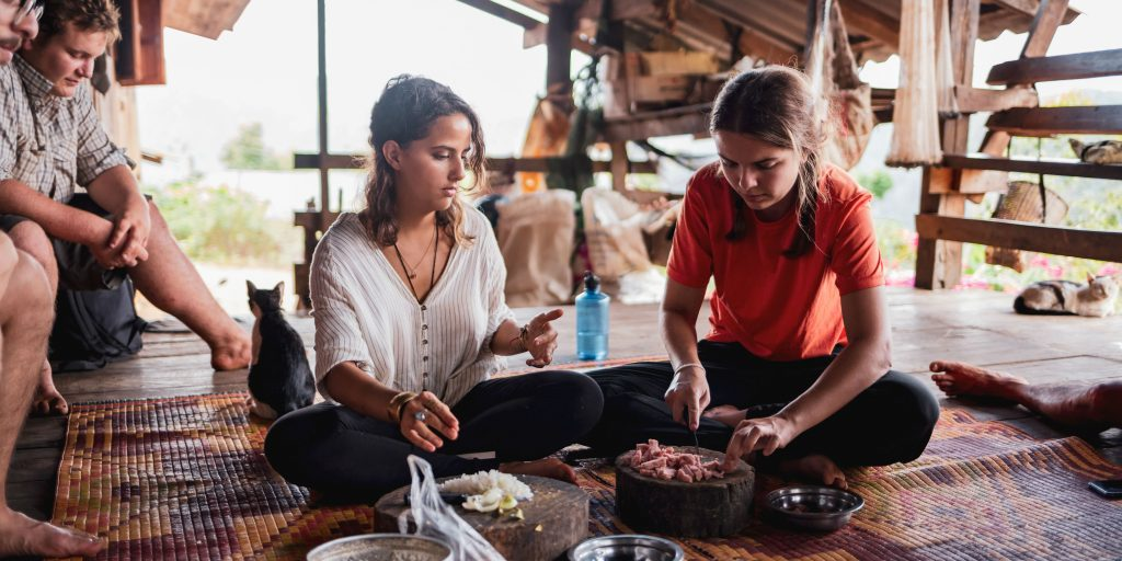 Join a cooking class when you volunteer in Chiang Mai Thailand