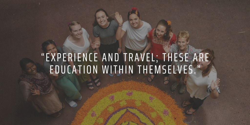 Volunteering and travelling abroad can teach you many important life lessons