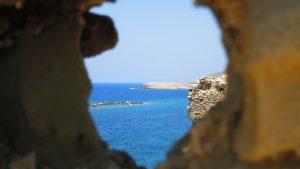 A beautiful view in Greece