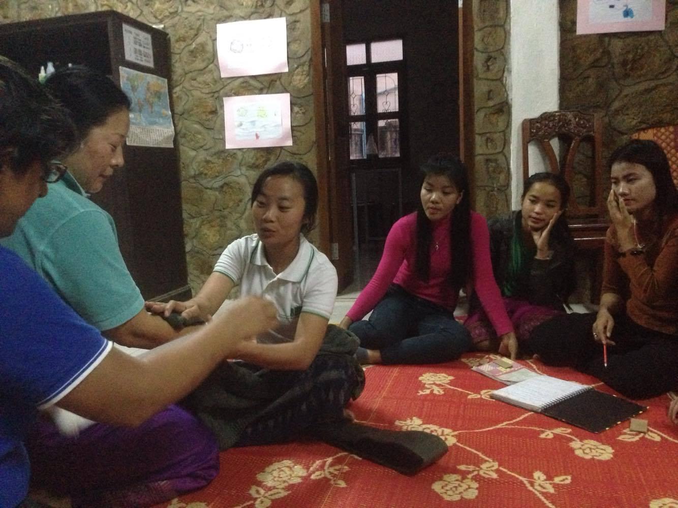 Laosi National Scholarship Student with GVI in Luang Prabang