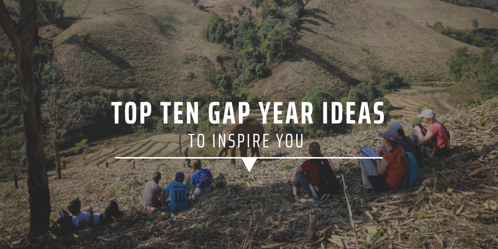 Top ten gap year ideas to inspire you
