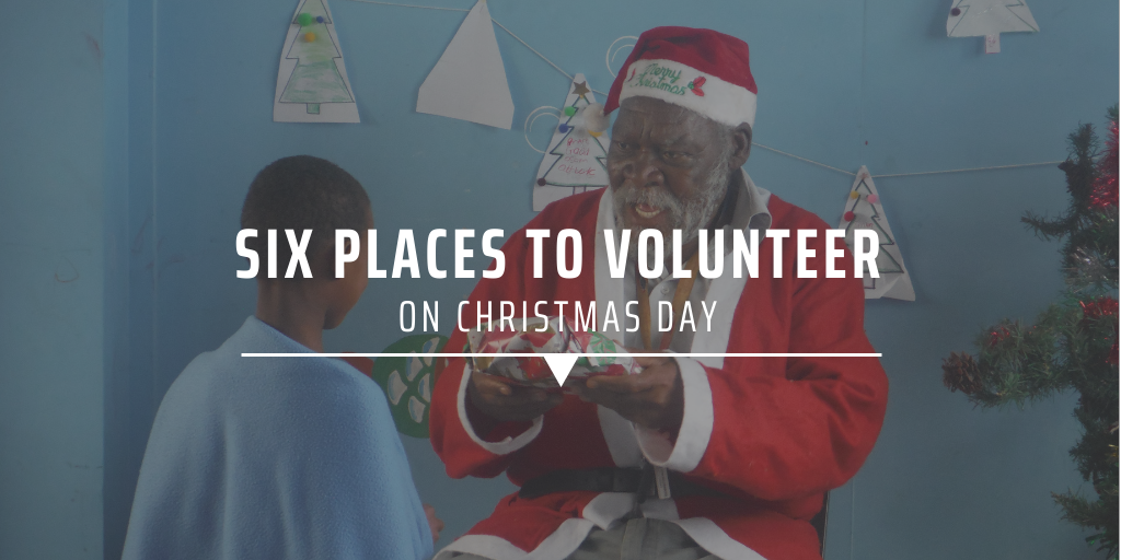 Six places to volunteer on christmas day