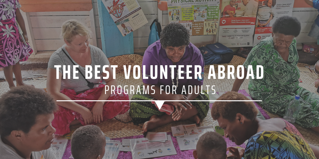 The best volunteer abroad programs for adults