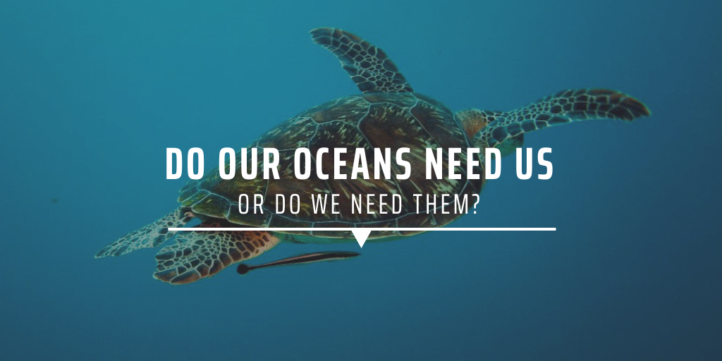 Do our oceans need us or do we need them?