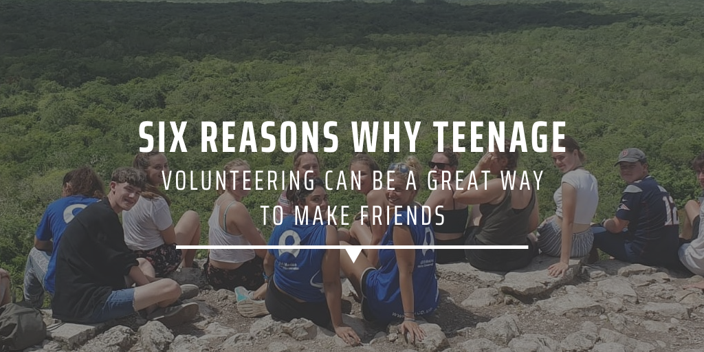 Six reasons why teenage volunteering can be a great way to make friends