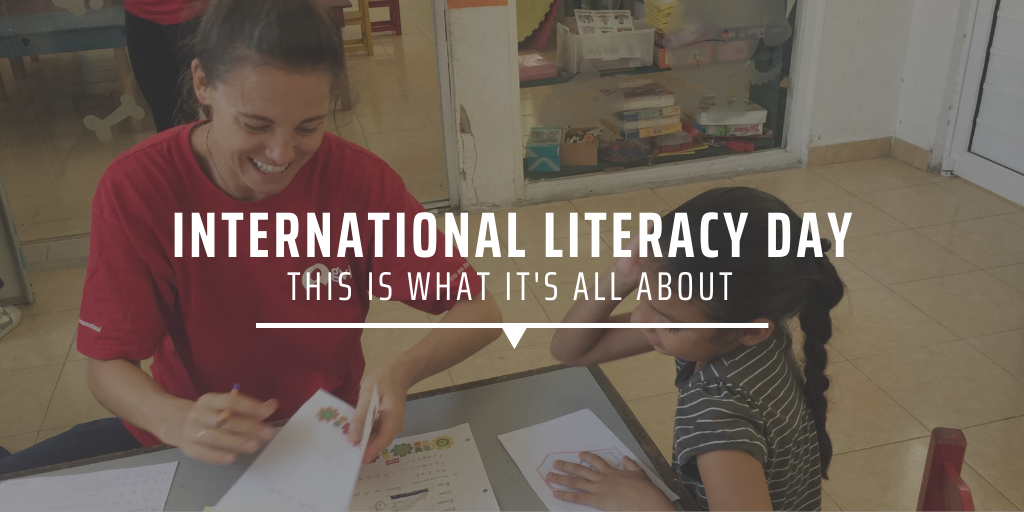 International Literacy Day this is what it's all about